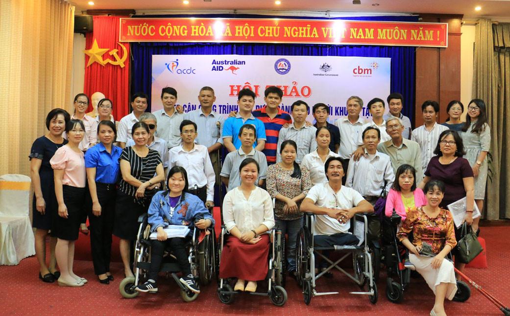 Quảng Ngãi: Hội thảo tiếp cận xây dựng dành cho người khuyết tật