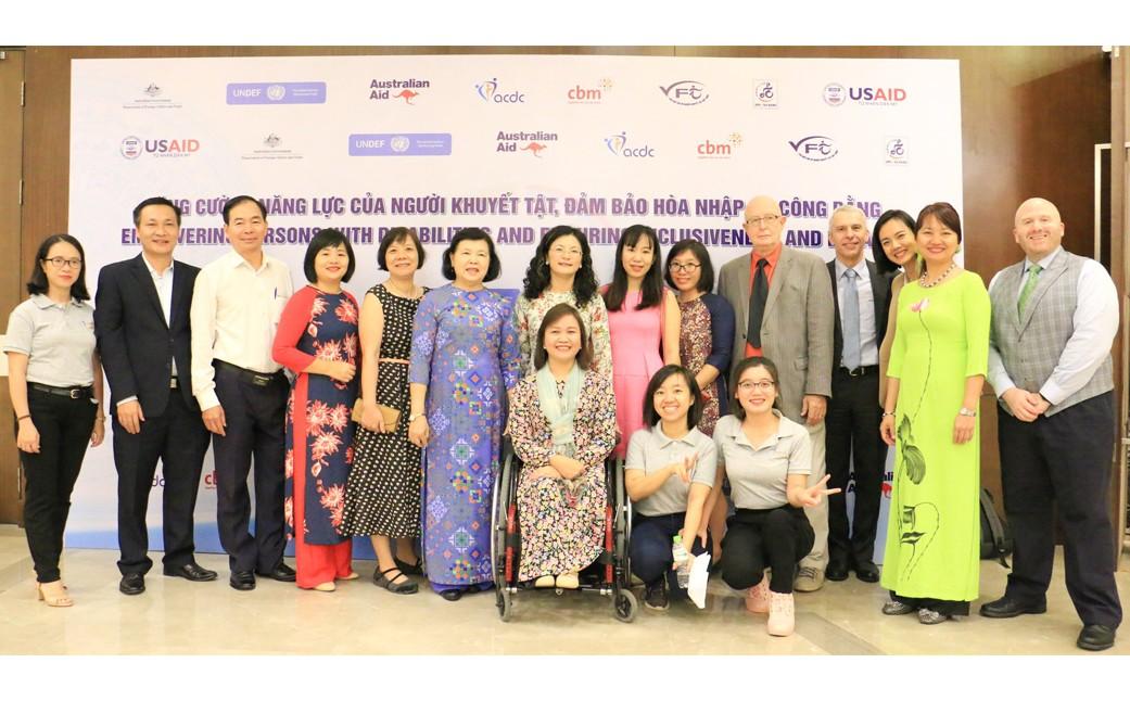 Đêm Gala vinh danh cá nhân, tổ chức đóng góp cho sự phát triển của người khuyết tật 3.12