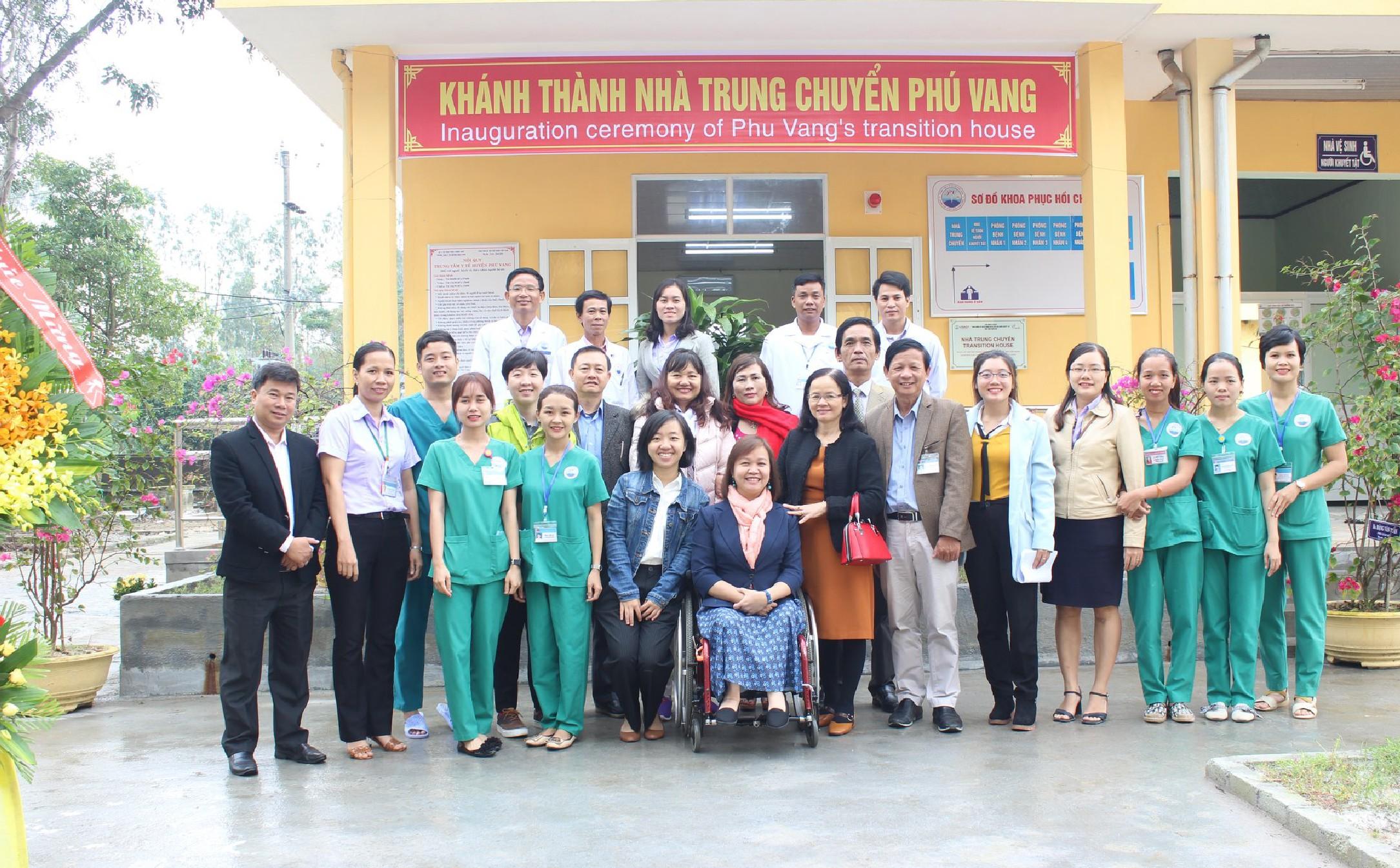 Khánh thành nhà trung chuyển đầu tiên tại tỉnh Thừa Thiên Huế